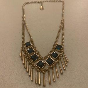 Sapphire Blue Statement Necklace